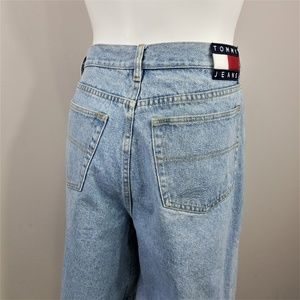 Vintage 90s Tommy Jeans Hilfiger Blue Denim Shorts